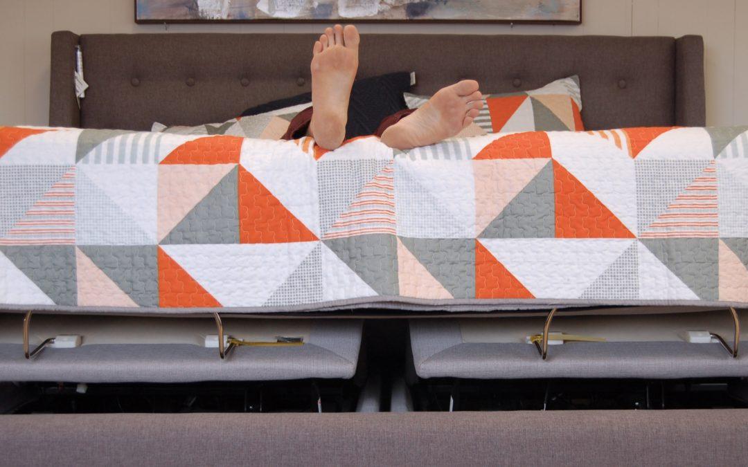 Adjust you Perception. Powering up your mattress just makes sense.